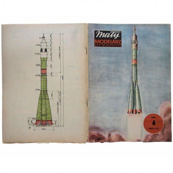Statek kosmiczny Sojuz-30 - Mały Modelarz 4/80