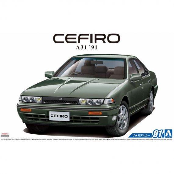 Nissan A31 CEFIRO '91 - Aoshima 05644