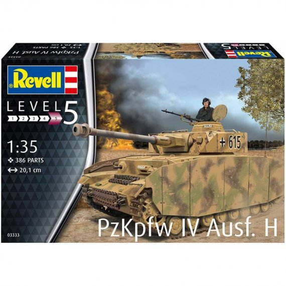 PzKpfw IV Ausf. H (Panzer IV) - REVELL 03333