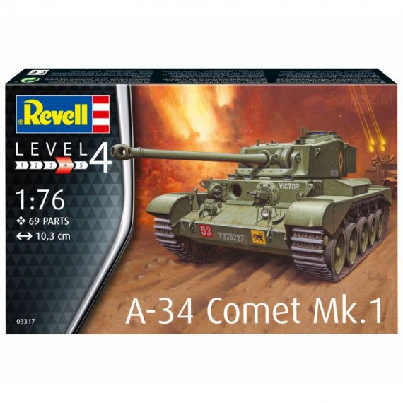 A-34 Comet Mk.1 - REVELL 03317