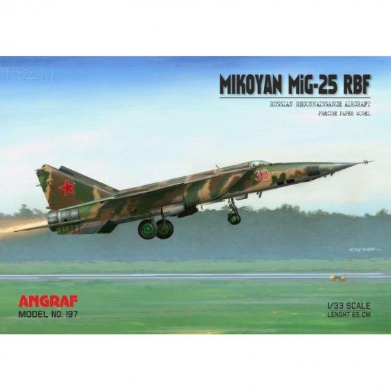 MiG-25 RBF - Angraf 197