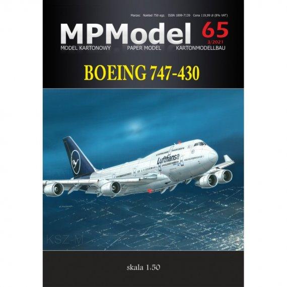Boeing 747-430 - MPModel 65