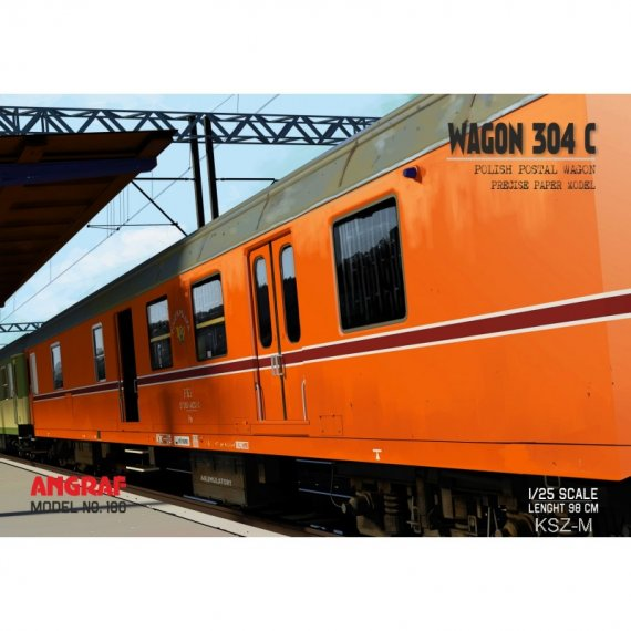 Wagon pocztowy 304C - Angraf 180
