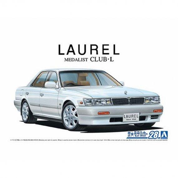 Nissan HC33 Laurel Medalist Club L '91 - Aoshima 05234
