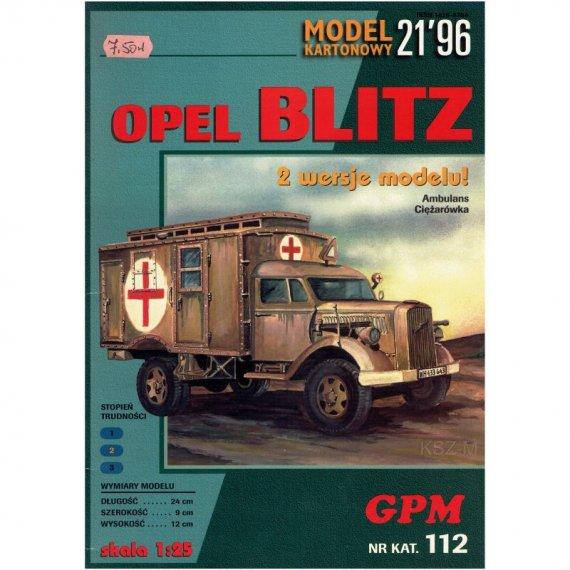 Samochód Opel Blitz  - GPM 112