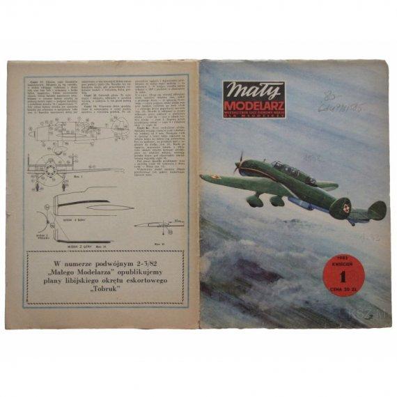PZL-46 Sum - Mały Modelarz 1/82