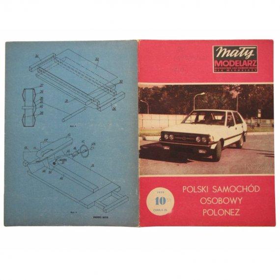 Samochód osobowy Polonez - Mały Modelarz 10/79