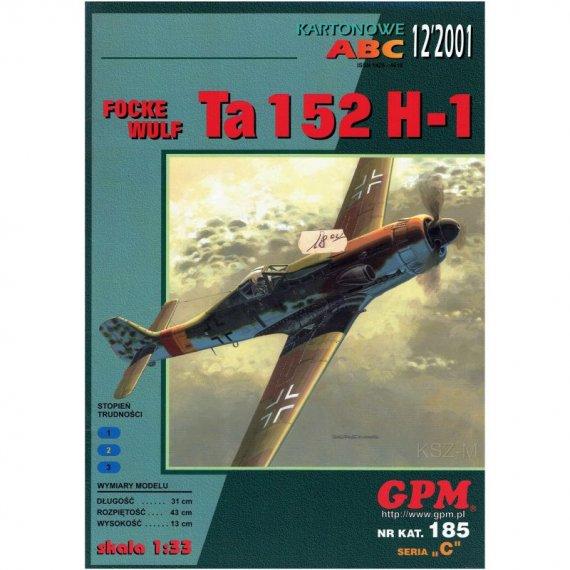 Focke-Wulf Ta 152 H-1  - GPM 185