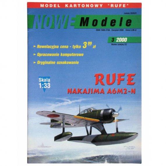 Nakajima A6M2-N Rufe - Nowe Modele 3/00