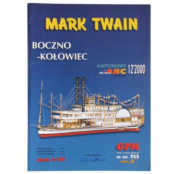 Bocznokołowiec Mark Twain - GPM 955