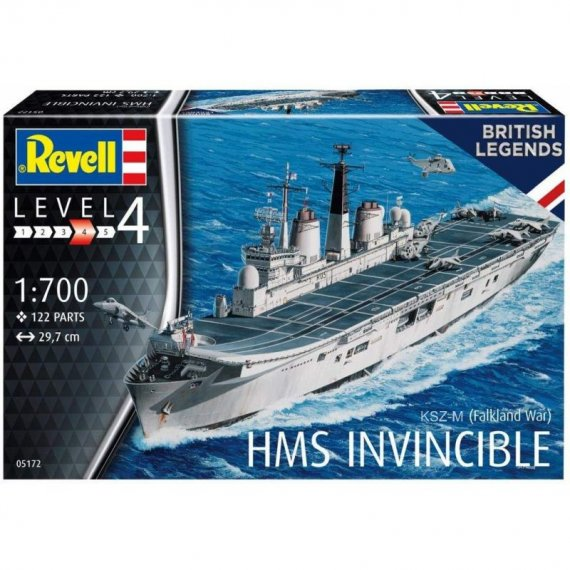 HMS Invincible (Falkland War) - REVELL 05172