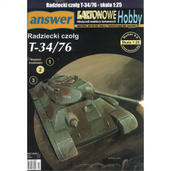 Czołg T-34/76 - Answer 4-5/06