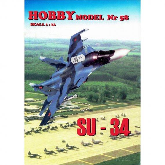 Samolot Su-34 - Hobby Model 58