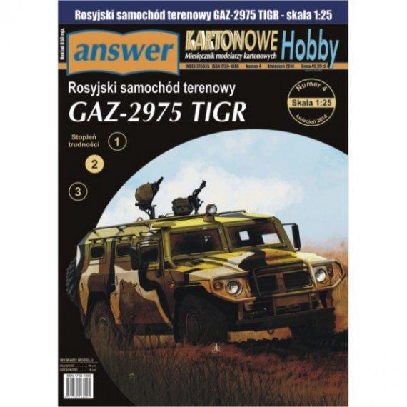 Answer 4/14 - GAZ-2975 TIGR