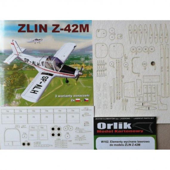 Wręgi, detale do ZLIN Z-42M - Orlik 162