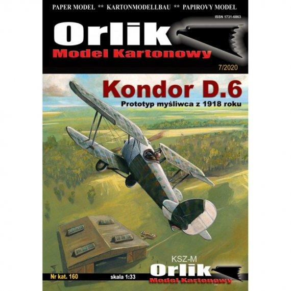 Kondor D.6 - Orlik 160