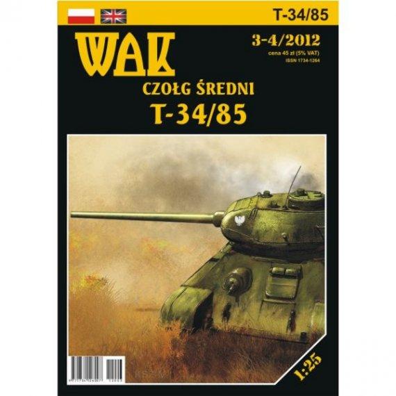 WAK 3-4/12 - Czołg T-34/85