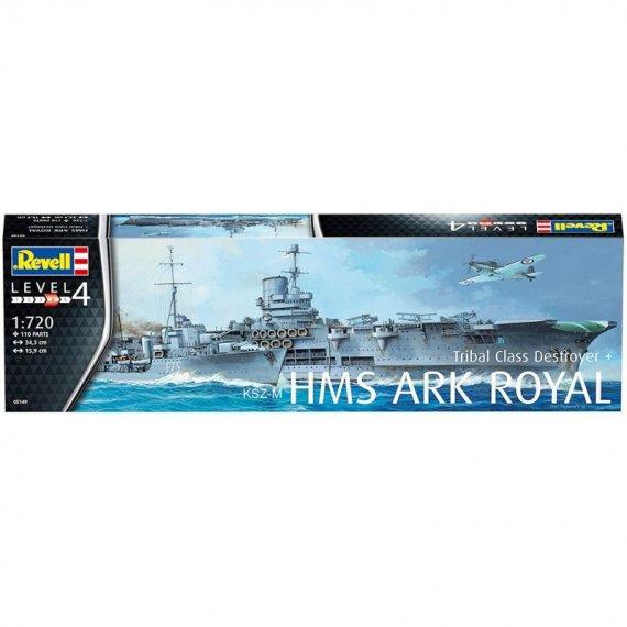 HMS Ark Royal & Tribal Class Destroyer - REVELL 05149