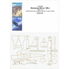 Szkielet do Mustang Mk.I - WAK 1/13 i 9/20