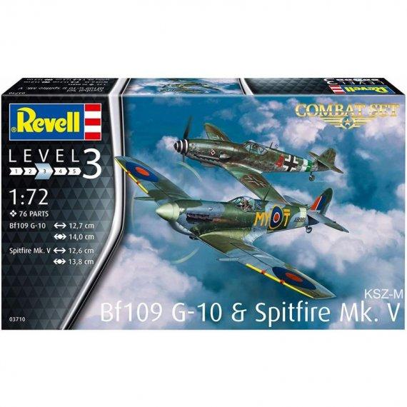 Bf-109 G-10 & Spitfire MK.V - REVELL 03710