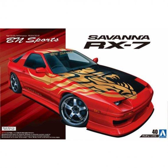 Mazda BN Sports FC3S Savanna RX-7 '89 - Aoshima 05449