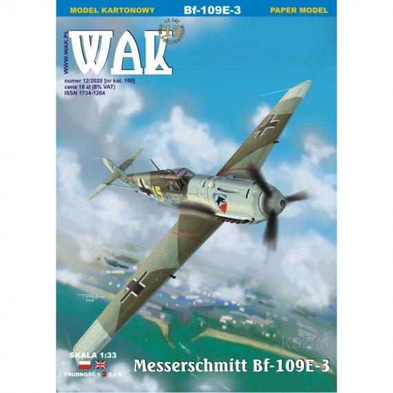 Messerschmitt Bf 109E-3 - WAK 12/20