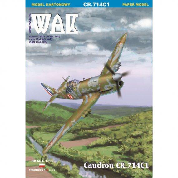Caudron CR.714C1 - WAK 1/21