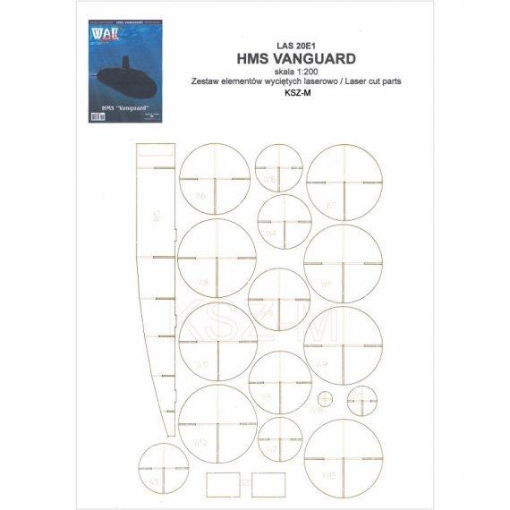 Szkielet do HMS Vanguard - WAK 1/20