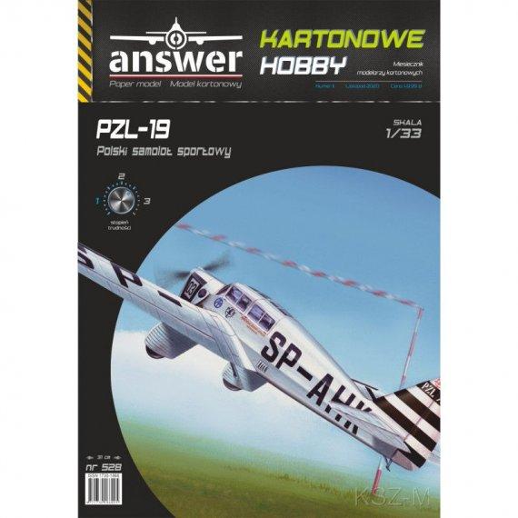 Samolot  PZL-19 - Answer 528