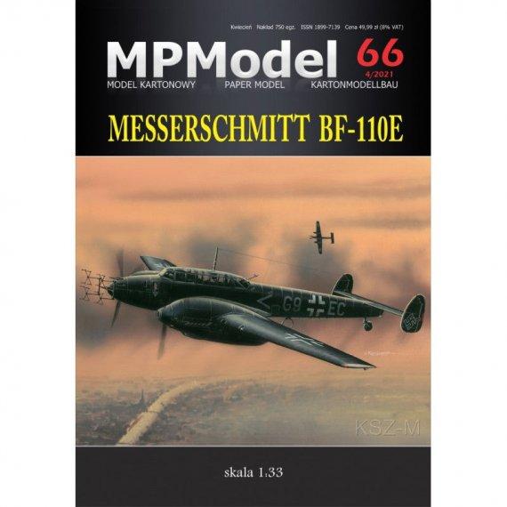 Messerschmitt Bf-110E - MPModel 66