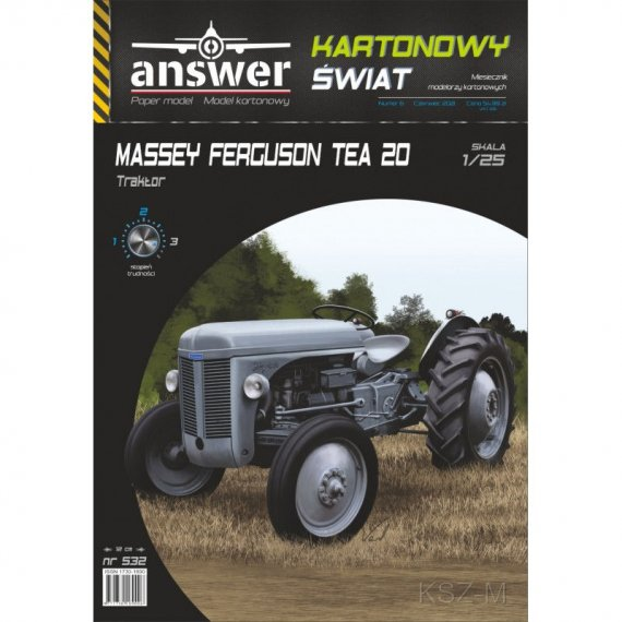 Ciągnik Massey Ferguson TEA20 - Answer 532
