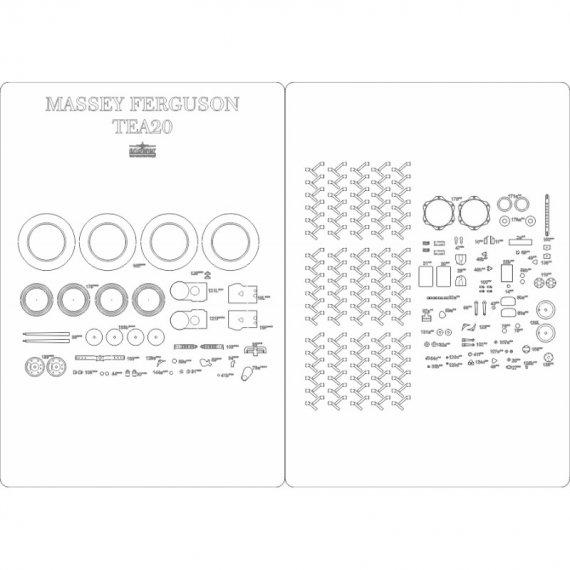 Szkielet do Massey Ferguson TEA20 - Answer 532