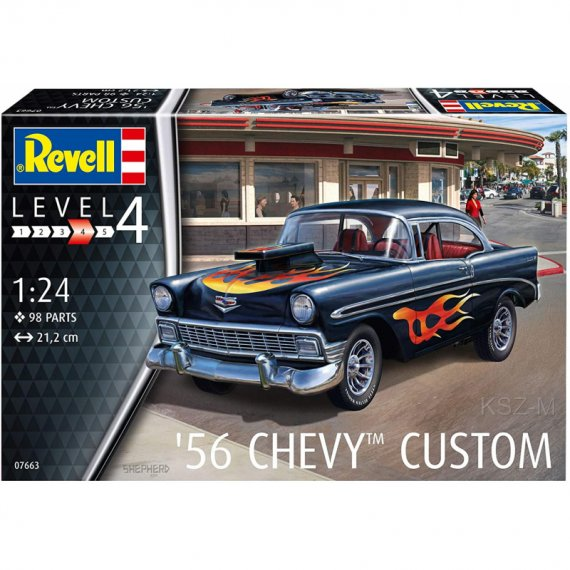 Chevy Customs '56 - REVELL 07663