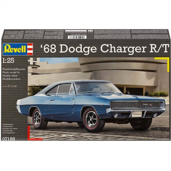 Dodge Charger R/T 1968 - REVELL 07188