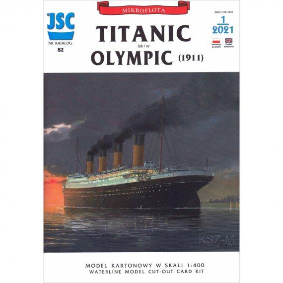 TITANIC brytyjski transatlantyk - JSC-082