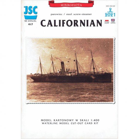 Parowiec CALIFORNIAN - JSC 417