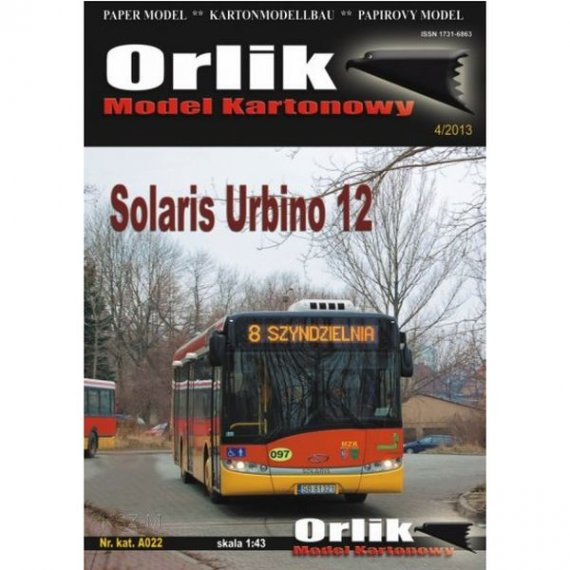 Orlik A022 - Solaris Urbino 12