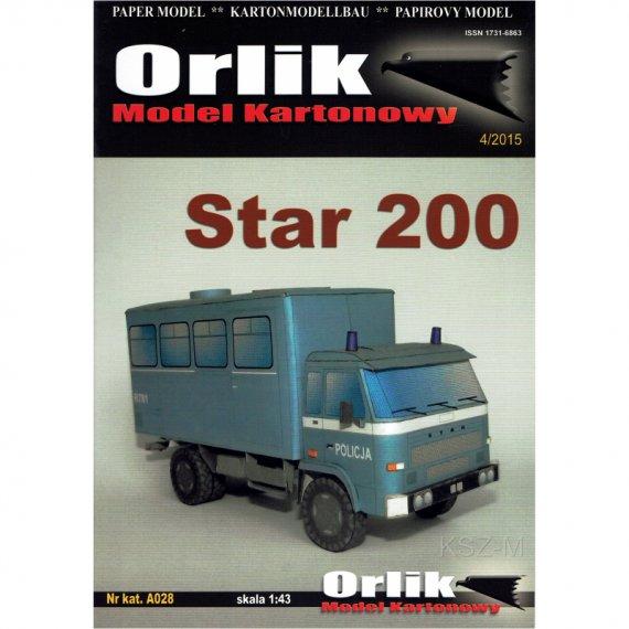 Star 200 Policja - Orlik A028