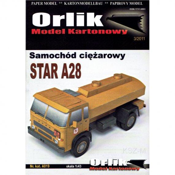 Samochód ciężarowy STAR A28 - Orlik A019