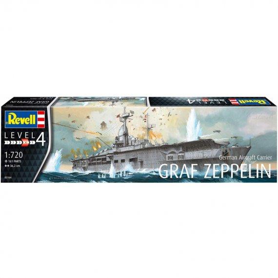 Lotniskowiec GRAF ZEPPELIN - REVELL 05164