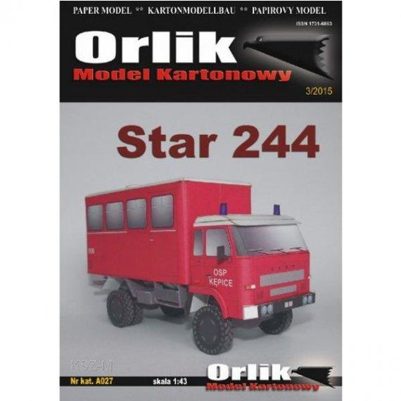 Orlik A027 - Star 244 Straż Pożarna