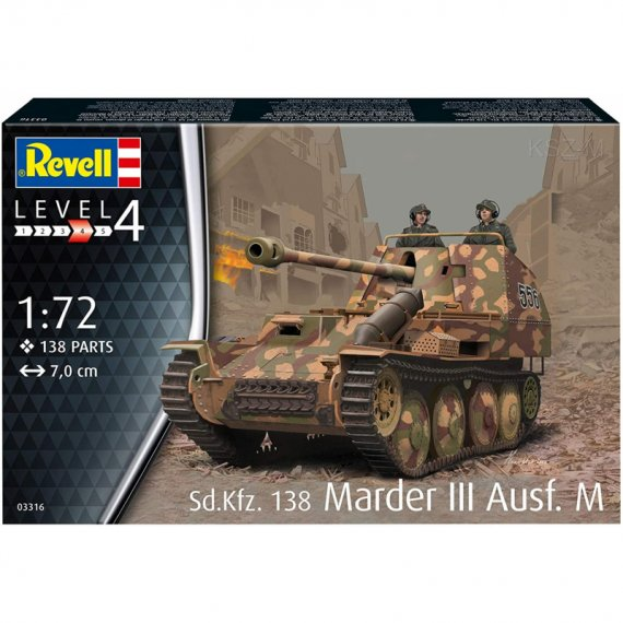 Sd.Kfz. 138 Marder III Ausf. M - REVELL 03316