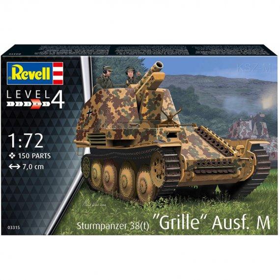 Sturmpanzer 38(t) Grille Ausf. M - REVELL 03315