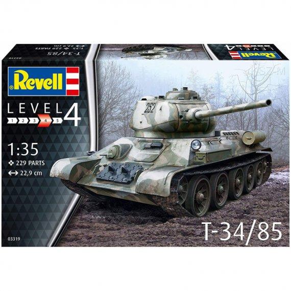 Czołg T-34/85 - REVELL 03319