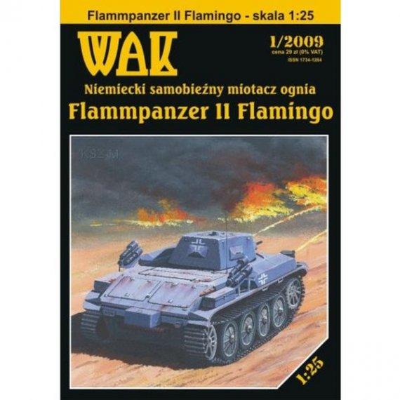 WAK 1/09 Flammpanzer II Flamingo