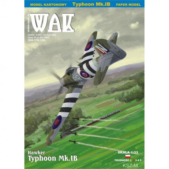 Hawker Typhoon Mk.IB - WAK 2/21