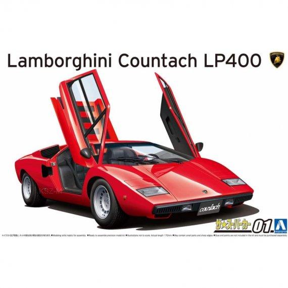 Lamborghini Countach LP40  - Aoshima 05804