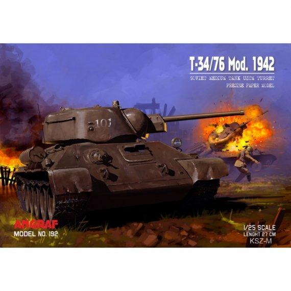 T-34/76 1942 UZTM Turret - Angraf 192