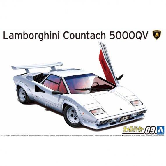 Lamborghini Countach 5000QV  - Aoshima 05945
