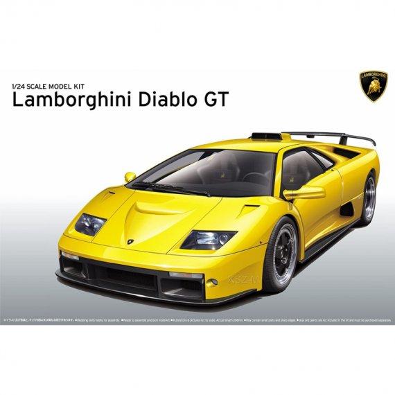 Lamborghini Diablo GT   - Aoshima 05899
